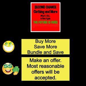 Buy More.  Save More.  Bundle and Save.